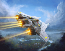 Zealous Recruit Protectorate Starfighter XWM