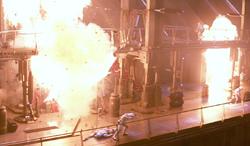 Pyro denton explosion