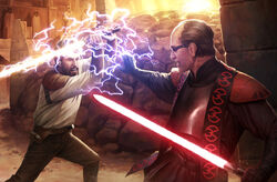 Duel at the valley of the jedi