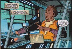 Spinner in Jedi Starship