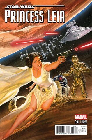 File:Star Wars Princess Leia Vol 1 1 Alex Ross Variant.jpg