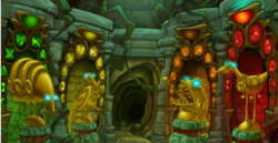 Nododo statues