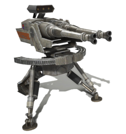 Infantry Turret Droid BFdice
