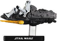 Stormtrooper on Repulsor Sled SWM