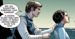 Solo reminds Organa