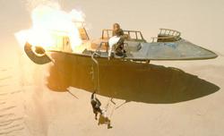 Han rescues Lando