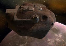 Pirate asteroid base