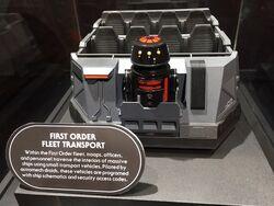 First Order Fleet Transport model