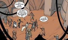Leia arrives Alderaan Enclave