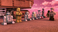Droids Mission to Mos Eisley