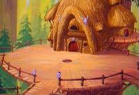 Royal hut