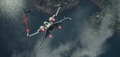 X-wing vs TIE fighter on Takodana.png
