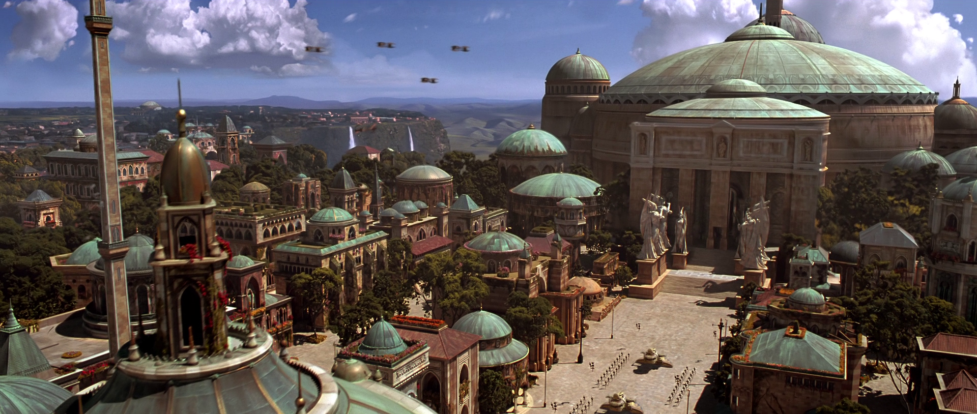 Image result for Naboo theed