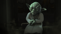 Yoda in the Lothal Jedi Temple.png
