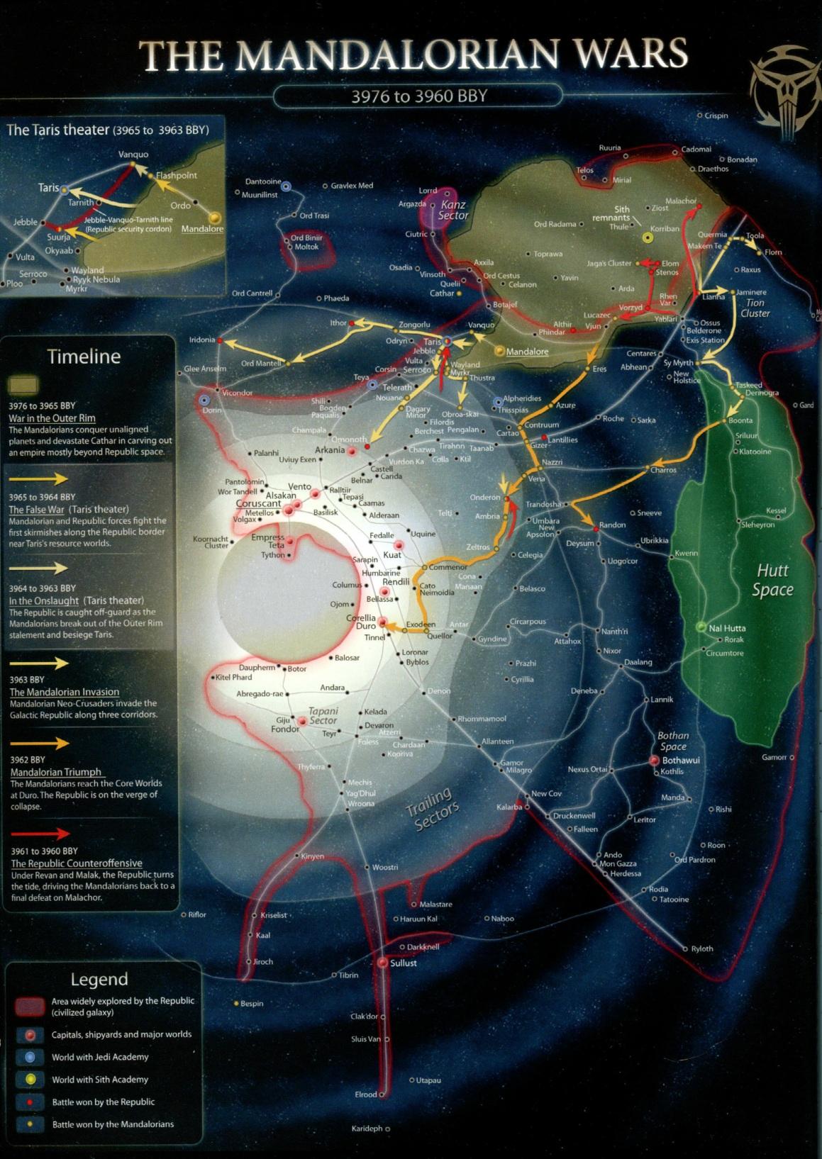 Image MandWars Mapjpg Wookieepedia FANDOM Powered By Wikia - Star wars old republic us map