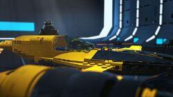 Vader Naboo starfighter