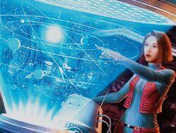 Star system hologram