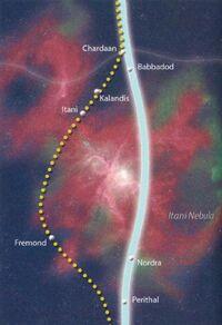 Itani Map Hydian Way