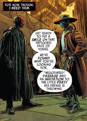 Maul meets Bane