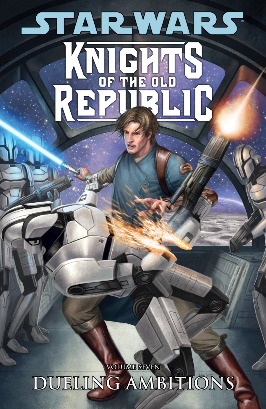 Image result for knights of the old republic vol 7