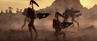 Battle Droids Geonosis