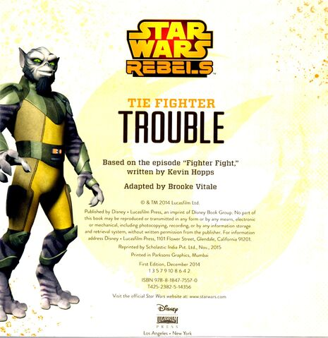 File:TIE FIghter Trouble Copyright Page.jpg