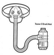 Roamer-6 breath mask