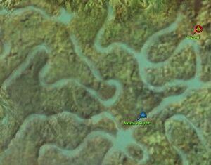 Aximia River map