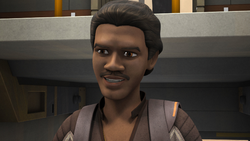 Lando on the Ghost