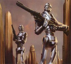 501-Z police droid TofG