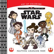 Keepsake Coloring new cover with Porgs