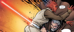 Dooku Kills Tiplee