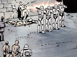 Coruscant executions