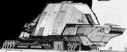 Space barge