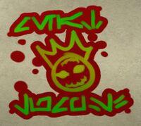Meatlump graffiti