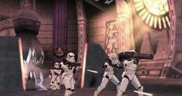 Stormtroopers in Bast Castle