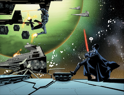 Morit versus Vader on the Executor