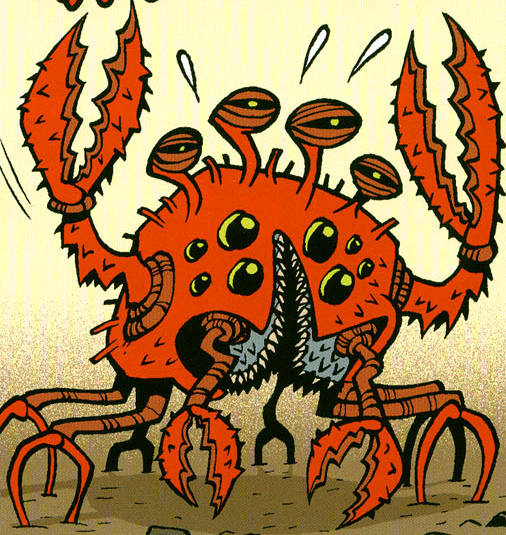 Unidentified Crab Creature Wookieepedia Fandom Powered By Wikia