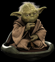 Yoda's hover chair