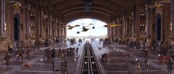 Theed hangar battle