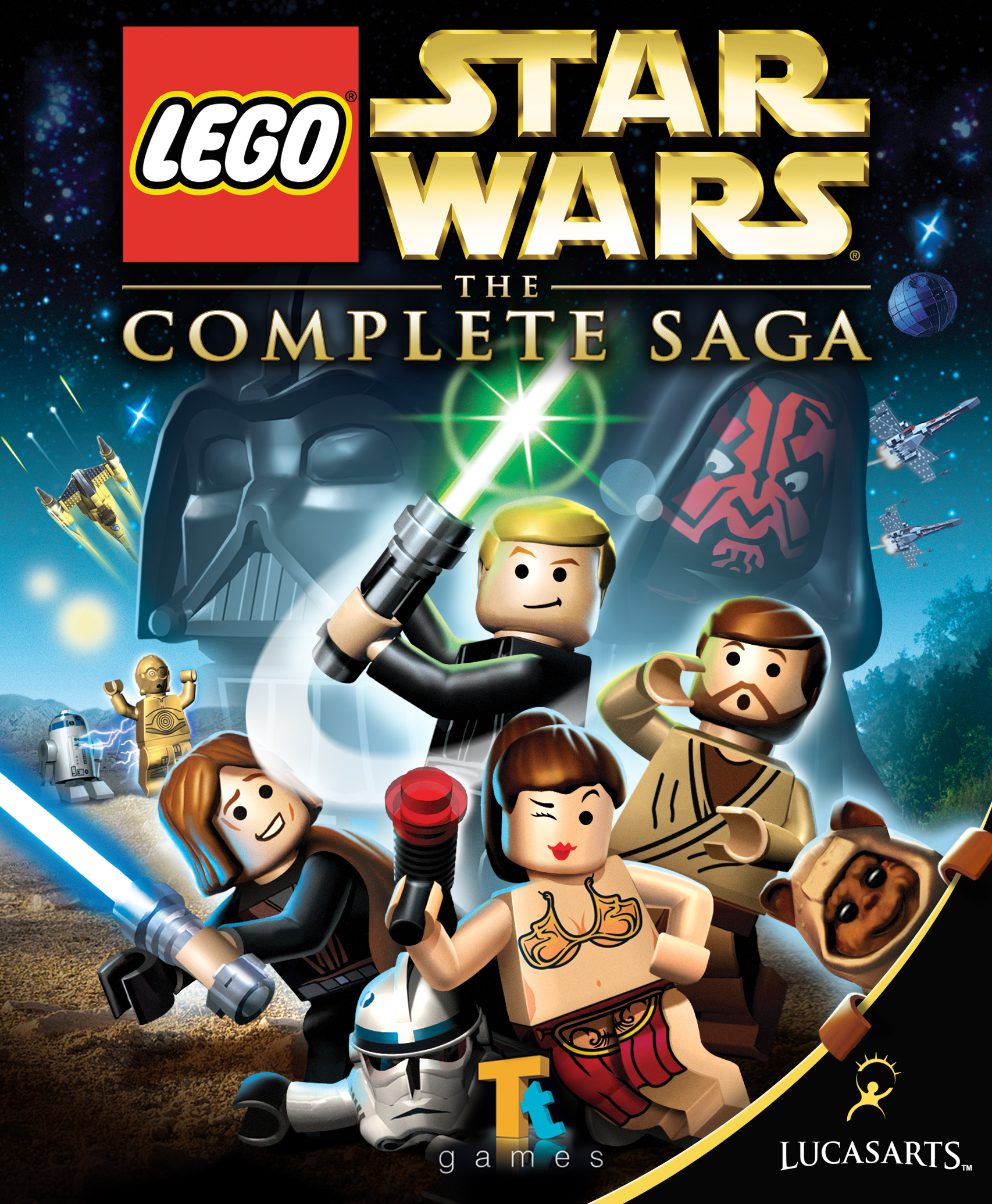 Image result for lego star wars the complete saga