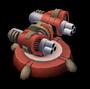 Rocket Turret Lvl 5 - Republic