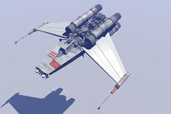NGR V-Wing Fighter