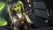 Hara piloting Ghost