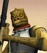 Bossk (Ezra's Big Gamble)
