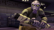 Battle-ready Zeb