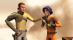 Star Wars Rebels Rise of the old Masters Screenshots Kanan and Ezra