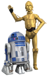 Rebels R2-D2 and C-3PO