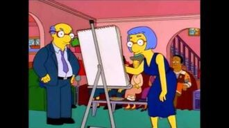 Kirk draws Dignity (The Simpsons)