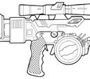 WESTAR-M5 Blaster Rifle
